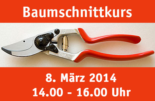 Obstbaumschnittkurs 2014